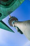 Statua della libertà - torcia e corona Fotografia Stock Libera da Diritti