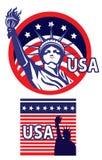 Statua della libertà U.S.A. illustrazione vettoriale