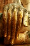 Statua della mano di Buddha Immagine Stock Libera da Diritti