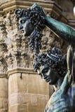 Statua della medusa di Perseo Fotografie Stock Libere da Diritti