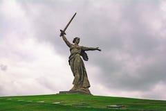 Statua della patria fotografie stock