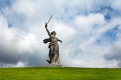 Statua della patria fotografia stock libera da diritti