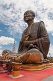Statua della rana pescatrice del Buddha Immagine Stock Libera da Diritti