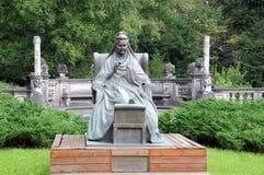 Statua della regina Elisabeth della Romania Immagine Stock