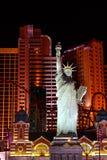 Statua della replica di libertà - Las Vegas immagine stock