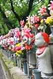 Statua della roccia del giapponese Fotografia Stock Libera da Diritti