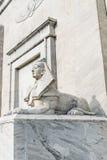 Statua della Sfinge dell'Egitto fotografia stock libera da diritti
