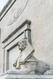 Statua della Sfinge dell'Egitto immagini stock