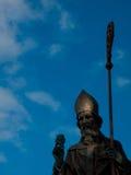 Statua della st Patrick Fotografia Stock Libera da Diritti