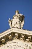 Statua della st Paul, città di Londra Immagine Stock