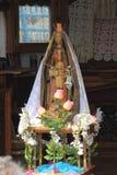 Statua della st Sara in Saintes Maries de la Mer, Francia immagine stock libera da diritti