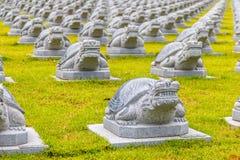 Statua della tartaruga Fotografia Stock