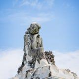 Statua delle donne sulla tomba fotografia stock