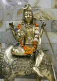 Statua dello shiva del signore, Delhi Fotografia Stock