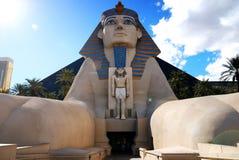 Statua dello Sphinx, hotel di Luxor, Las Vegas Fotografia Stock Libera da Diritti