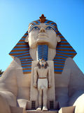 Statua dello Sphinx, hotel di Luxor, Las Vegas Fotografie Stock