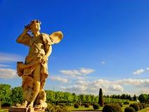 Statua dello zefiro. Fotografia Stock