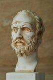 Statua Demokritus, starożytnego grka filozof Obrazy Stock