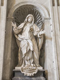 Statua di Санта Giuliana Falconieri Стоковая Фотография