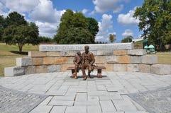 Statua di Abraham Lincoln a Richmond, la Virginia Immagini Stock