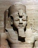Statua di Abu Simbel Fotografia Stock Libera da Diritti