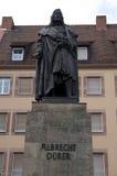 Statua di Albrecht Duerer Fotografia Stock