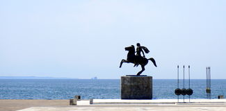 Statua di Alexander Fotografia Stock