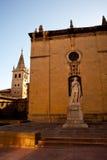 Statua di Alfonso il casto immagini stock libere da diritti
