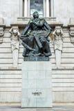 Statua di Almeida Garrett Fotografie Stock