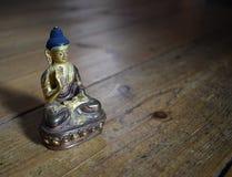 Statua di amoghasiddhi di Buddha Immagini Stock Libere da Diritti