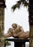 Statua di amore nel Perù di Lima Fotografie Stock Libere da Diritti