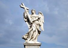 Statua di angelo Fotografia Stock Libera da Diritti