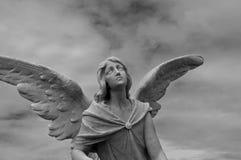 statua di angelo Immagine Stock Libera da Diritti