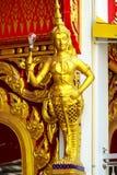 Statua di angelo di illuminazione Fotografie Stock