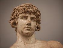 Statua di Antinoo da Delfi Fotografia Stock