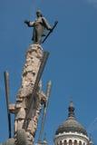 Statua di Avram Iancu Cluj Napoca Romania Fotografia Stock
