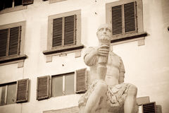 Statua di Bande Nere, Firenze Fotografia Stock