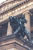 Statua di Berlino Fotografia Stock