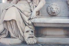Statua di Berlino Fotografia Stock Libera da Diritti