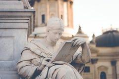 Statua di Berlino Fotografie Stock