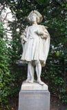 Statua di Bernard van Orley (circa XIX il C.), Bruxelles, Belgio Immagini Stock Libere da Diritti