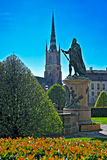 Statua di Birger Jarl Fotografia Stock
