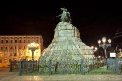 Statua di Bogdan Khmelnitsky Fotografia Stock Libera da Diritti