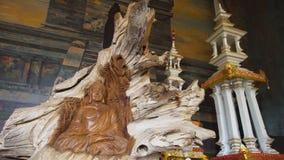 Statua di Buda nell'isola del tempio di Bali fotografia stock libera da diritti