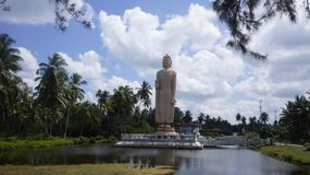 Statua di Buda, Sri Lanka Immagine Stock Libera da Diritti