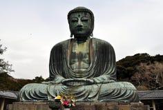 Statua di Budda del gigante Fotografie Stock Libere da Diritti