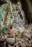 Statua di Budda in montagne di marmo, Vietnam Immagine Stock Libera da Diritti