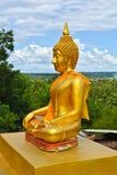Statua di Buddha Fotografie Stock