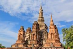 Statua di Buddha al tempio Fotografie Stock Libere da Diritti