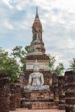 Statua di Buddha al tempio Immagine Stock